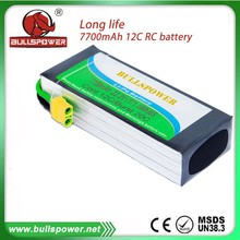22.2v 7700mah rc lipo battery for rc helicopter toy car traxxas