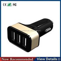 universal 12V 24V DC 5A output 2 port 3 port portable USB charger car battery charger