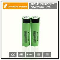 High capacity original panasonic ncr18650b 3400mah 3.7v li ion rechargeable battery cell on sale