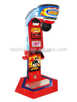 Get the prize high quality boxing punch game machine/ amusement punch boxer game machine for