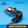 220V stainless steel metal anti-vandal switch 19mm ss key