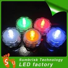 Mini multicolor changing submersible led lights aquarium