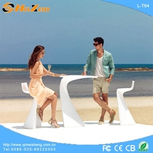 Supply all kinds of lighted cube LED table,wedding LED table overlays