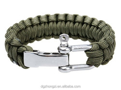 350/550 paracord Jewelry Main Material paracord bracelets