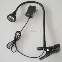 3w 220v Swing Arm Metal Desk Light With Switch And Plug