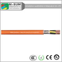 XLPE/PVC copper braided VFD electrical power cable Copper/Cu conductor VFD power cable