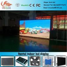 RGX P-40 p6 rental led curtain screen/p6 indoor rental led display/p6 stage rental led display screen