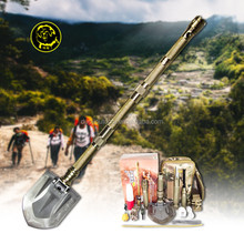 Emergency kits for cars/Outdoor camping and hiking tools/ Multifunction shovel