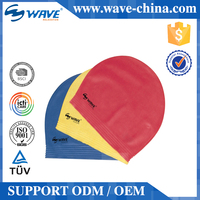 2015 Hot Sell Quality Assured Elegant And High-End Good Design adults Funny Silicone Swimming Cap
