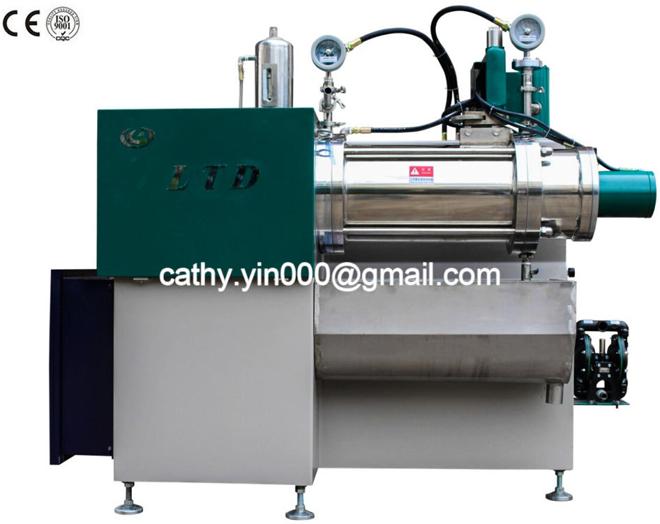 Fast production 50L capacity horizontal pin type grinder mill