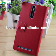 Ultra Slim Fit Vertical Flip Leather Mobile Phone Case for Sony Xperia S Lt26i
