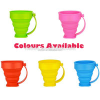 2015 new design paint mixing cup with lid and Carabiner