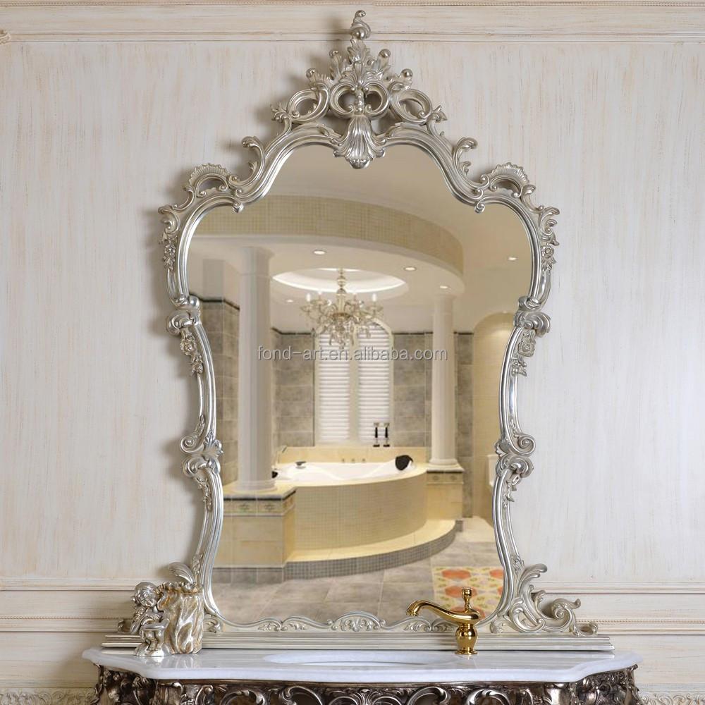 European style unique decorative wall mirror buy unique - Unusual large wall mirrors ...