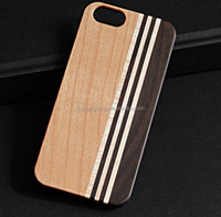 Wholesale wood logo phone cover, wooden phone case for all size