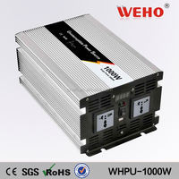 CE ROHS approved 1000w 12v 220v inverter pure sine wave inverter charger UPS 1000w dc to ac power inverter with charger