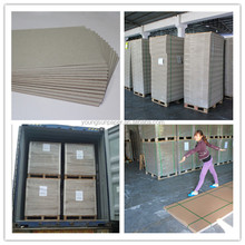 gray paperboard stocklot paper in China paperboard factory carbonless grey board paper