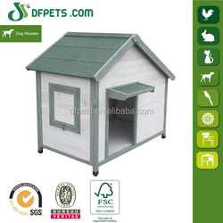 DFPETS DFD015GW New Wooden Dog House With Window