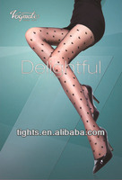 hearts patterned lady pantyhose sheer seamless pantyhose