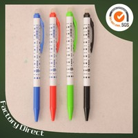 The five-star flower film beautiful plastic erasable ball pen