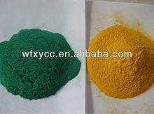 epoxy and polyester powder coat
