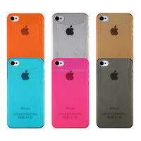 Soft PC Case for iphone 4s High Quality New Luxury Back Case Cover for iphone 4s 4