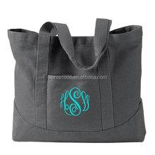 Hot Sell Monogram Handbag Canvas Tote Bag