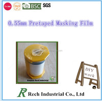 high quality of auto paint masking film