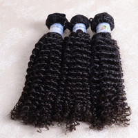 Direct factory wholesale cheap remy unprocessed 100% virgin 3 packs 28inch indian hair naturally curly