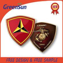 2015 Wholesale factory price metal eagle logo emblem or sign medal