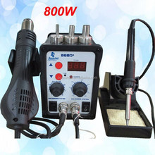 868D Factory direct,2 in 1 Soldering Station,SMD Rework Station in Electric Soldering Irons