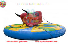 The most popular inflatable bull for kids mechanical rodeo bull interactive sports inflatable