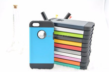 Armor defender smartphone cover case for Iphone5/5s.2 in1PC+TPU phone case for apple iphone5 5s