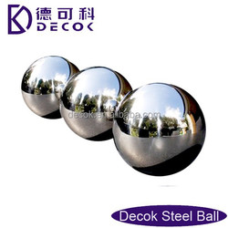 0.6mm thick AISI304 stainless steel hollow ball chrome plated