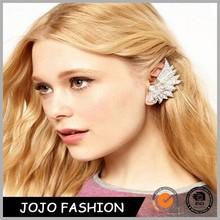 Latest Styles Earrings New Retro Crystal Flower Ear Cuff Stud Earring Wrap Clip