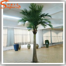 China manufacturer artificial palm trees wholesale large evergreen coconut tree for sale hotel home park decoration