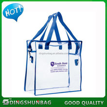 Best quality new products polyester canvas rope handle beach bag