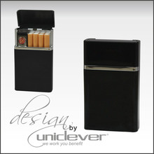 Cigarette Case With Built-in Lighter,Rechargeable Lighter