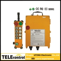 China manufacturer Wholesale price wireless radio industrial remote control for crane F24-8S
