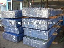 láminas de hierro galvanizado