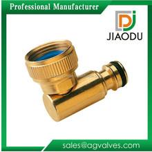 brass garden hose swivel connector for water