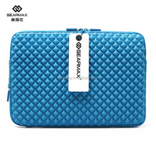 Factory Luxury Diamond Pattern Sleeve 13.3 inch Branded Sleeve Case for Macbook Pro 13.3 inch Free Sample