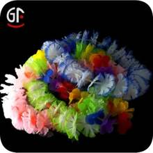 2014 Passionate Cheering Squad LED Glowing Cheap Flower Necklace