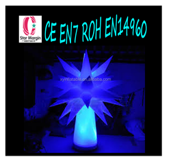 Light adjustableinflatable star for party