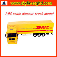 Hot selling new 1:50 diecast toy, diecast truck model for kids