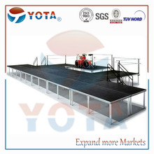 Aluminium used mobile stage for wedding or party