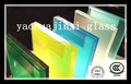colorida película de PVB vidrio de construcción laminada