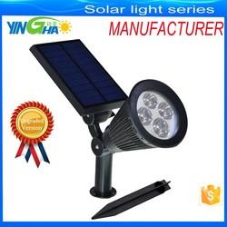 [Upgrated 200 Lumen Output]New Solar power spot garden lights / Solar Powered Outdoor Wall Light - Waterproof