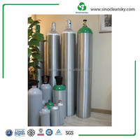 Aluminum Gas Cylinder for CO2 Oxygen Industrial Specialty Gas High Purity Gas