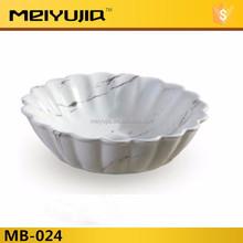 MB-024 Flower Shape Round Bathroom Ceramic Basin