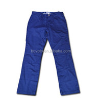 wholesale ruffle persnickety pants kids palazzo pants royal blue